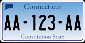 Plaque USA 30×15 Connecticut