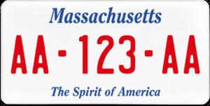 Plaque USA 30×15 Massachusetts