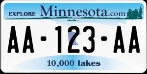 Plaque USA 30×15 Minnesota