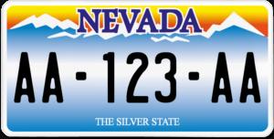 Plaque USA 30×15 Nevada