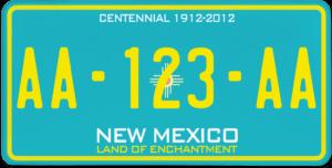 Plaque USA 30×15 Nouveau Mexique