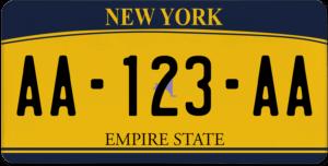 Plaque USA 30×15 New York