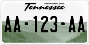 Plaque USA 30×15 Tennessee