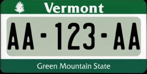 Plaque USA 30×15 Vermont