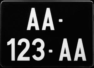 Plaque 4×4 – COLLECTION – nouveau numéro – 275×200
