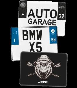 Plaque CAMPING CAR – 275×200 – 100% Personnalisée