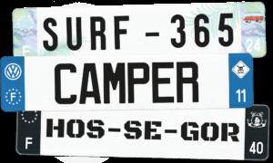 Plaque Caravane – 520×110 – 100% Personnalisée
