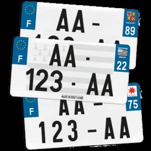 Plaque USA – 30×15 – SIV