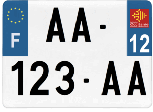 Plaque 4×4 – 275×200 – 12 – Aveyron