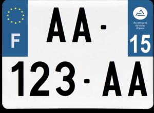 Plaque 4×4 – 275×200 – 15 – Cantal