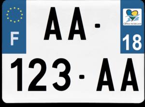 Plaque 4×4 – 275×200 – 18 – Cher