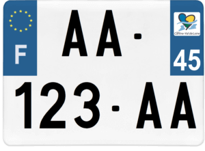 Plaque 4×4 – 275×200 – 45 – Loiret