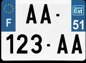 Plaque 4×4 – 275×200 – 51 – Marne