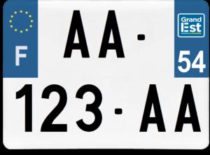 Plaque 4×4 – 275×200 – 54 – Meurthe-et-Moselle