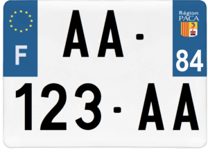 Plaque 4×4 – 275×200 – 84 – Vaucluse