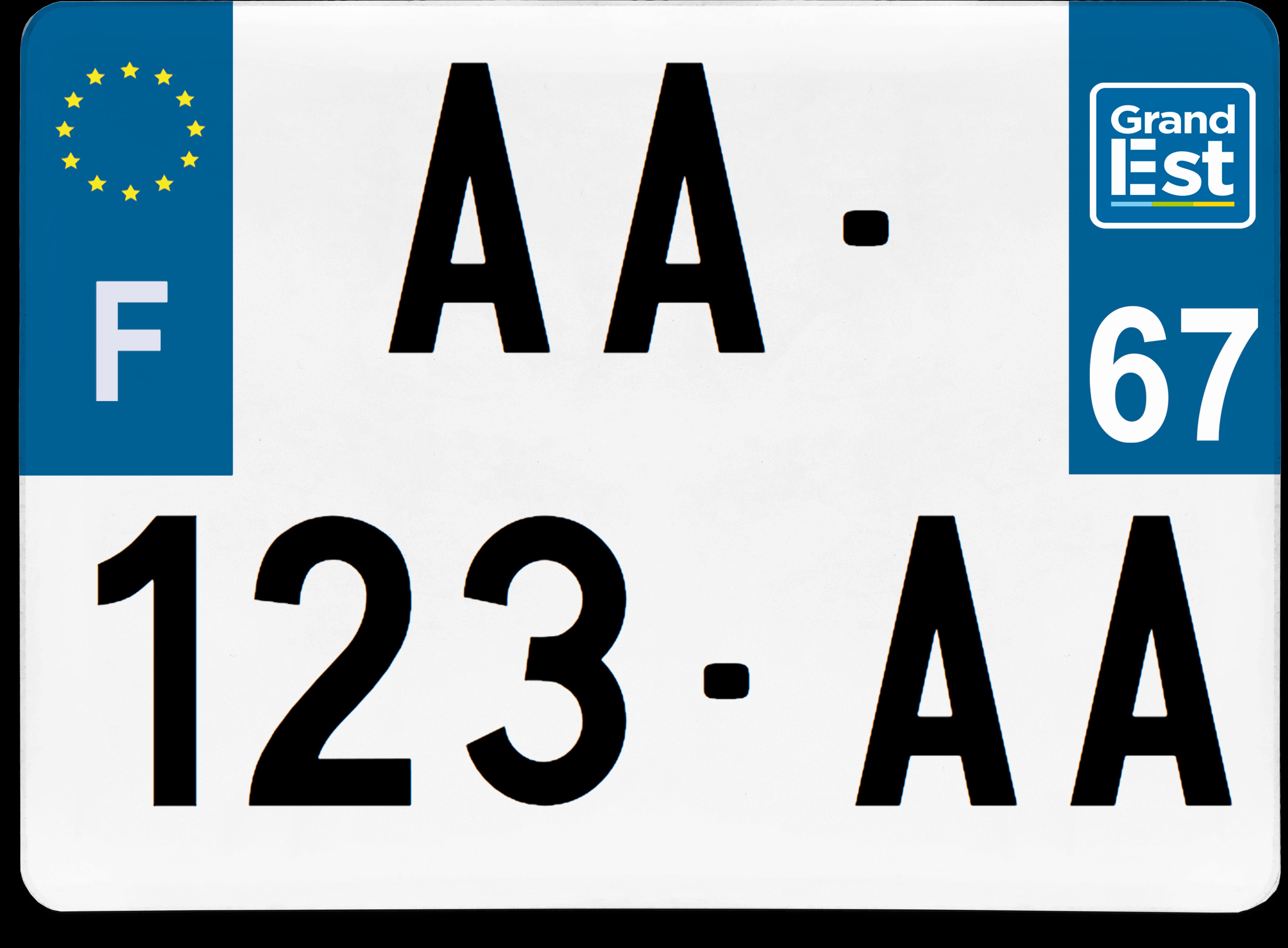 L'Alsace va changer de logo pour ses plaques d'immatriculation