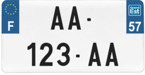 Plaque USA – 30×15 – SIV – 57 – Moselle