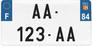 Plaque USA – 30×15 – SIV – 84 – Vaucluse