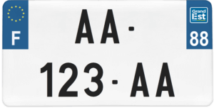 Plaque USA – 30×15 – SIV – 88 – Vosges