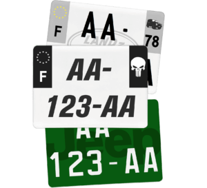 Plaque CAMPING CAR – 275×200 – 100% Personnalisée Plaque Camping Car – 520×110 – 100% Homologuée
