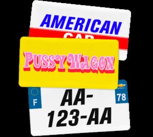 Plaque USA – 30×15 Plaque USA – 30×15 – SIV