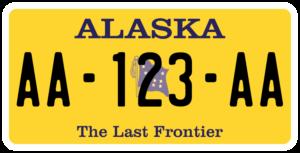Plaque USA 30×15 Alaska Plaque USA – 30×15 – SIV