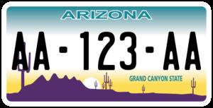 Plaque USA 30×15 Arizona Plaque USA – 30×15 – SIV