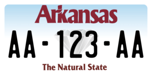 Plaque USA 30×15 Arkansas
