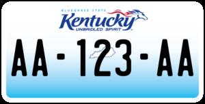 Plaque USA 30×15 Kentucky