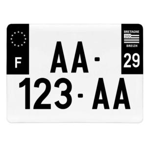 PLAQUE 4×4 – 275×200 – Côtés noirs