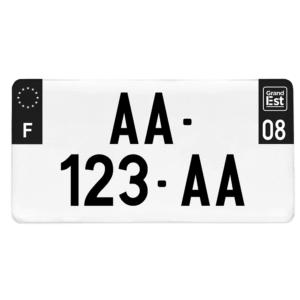 Plaque USA – 30×15 – Côtés noirs
