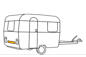 Plaques immatriculation caravane