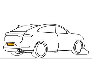 Plaques immatriculation SUV