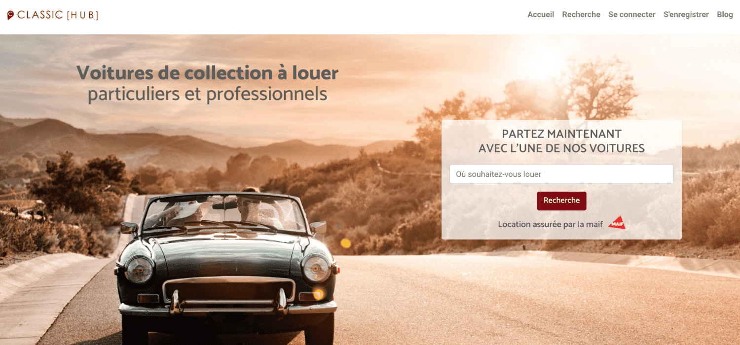 location de voitures de collection