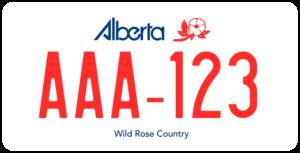 Plaque Canada 30×15 Alberta