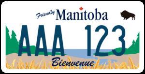 Plaque Canada 30×15 Manitoba