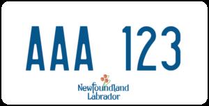 Plaque Canada 30×15 Newfoundland and Labrador