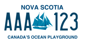 Plaque Canada 30×15 Nova Scotia