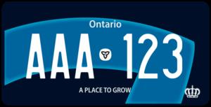 Plaque Canada 30×15 Ontario
