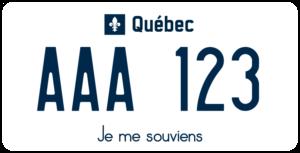 Plaque Canada 30×15 Quebec