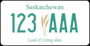 Plaque Canada 30×15 Saskatchewan
