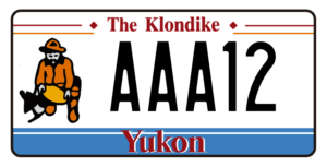 Plaque Canada 30×15 Yukon