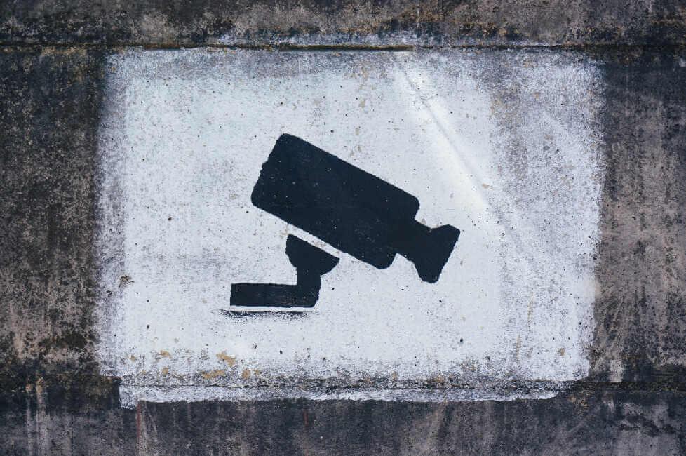 flashé à 250 km h identifié par caméra de surveillance