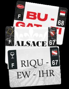 Plaque 4×4 – 275×200 – Alsace