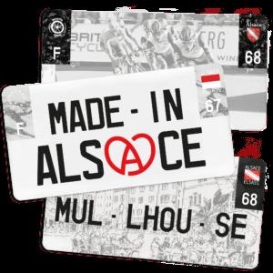 Plaque USA – 30×15 Alsace