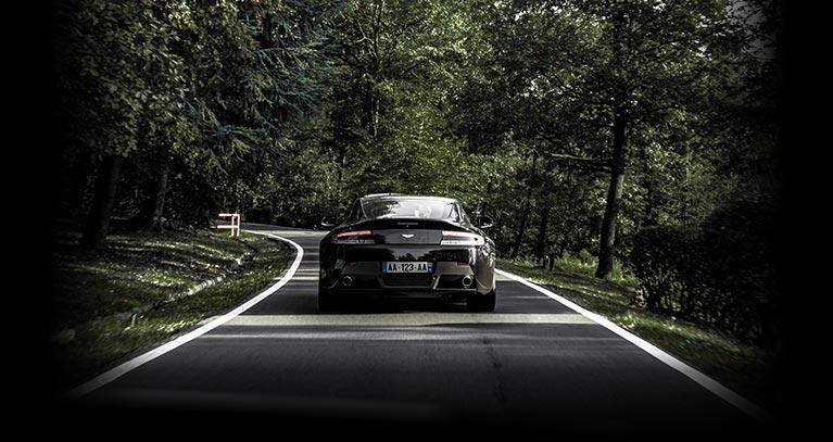plaque immatriculation voiture de luxe